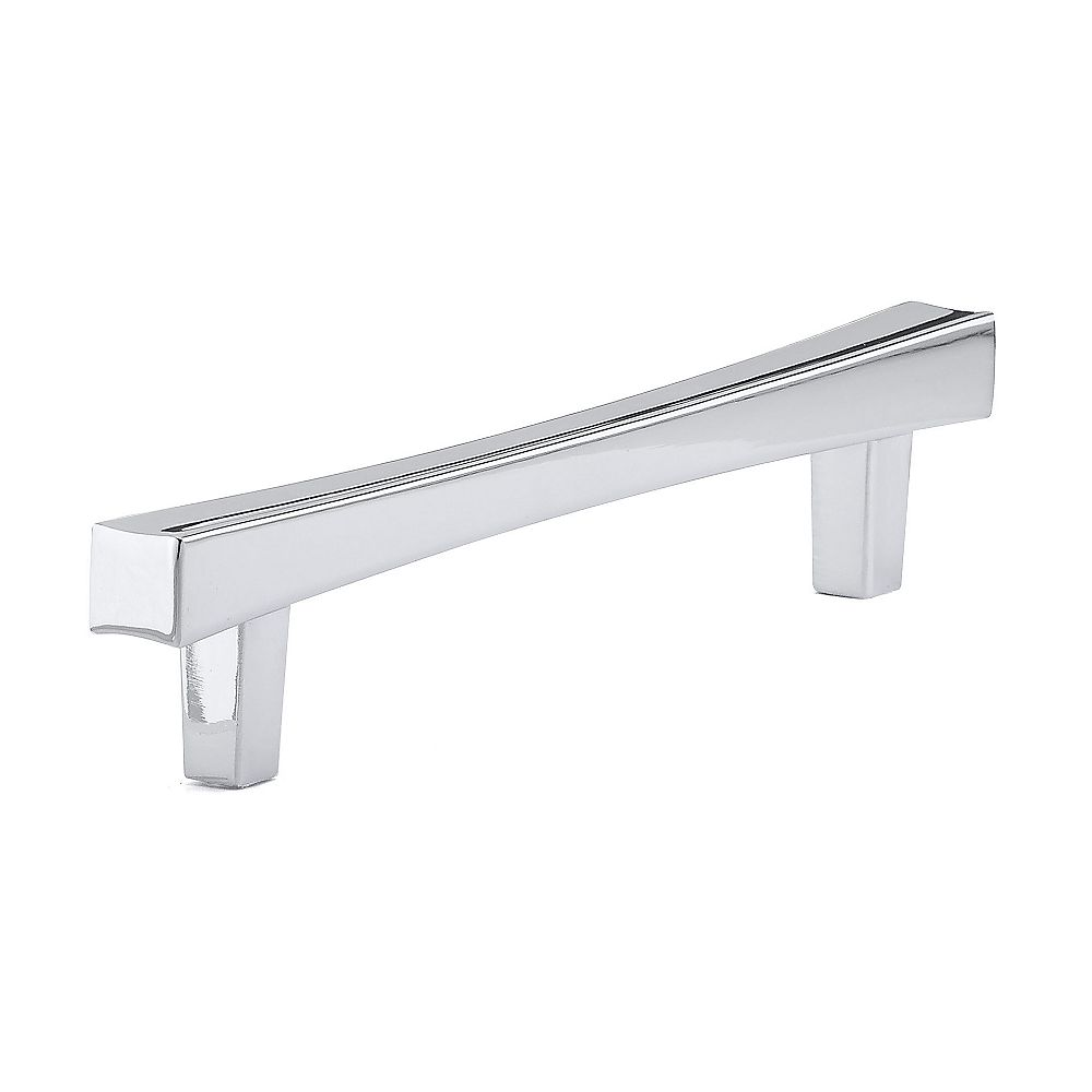Richelieu Westmount Collection 5 1/16 in (128 mm) Center-to-Center Chrome Transitional Cabinet Pull