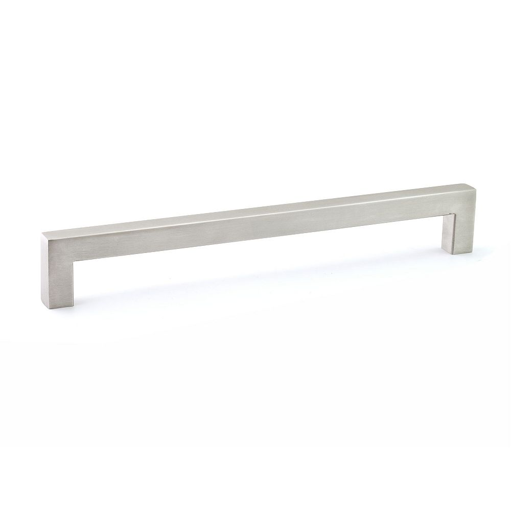Richelieu Wingate Collection 10 1/8 in (256 mm) Center-to-Center Stainless Steel Contemporary Cabinet Pull