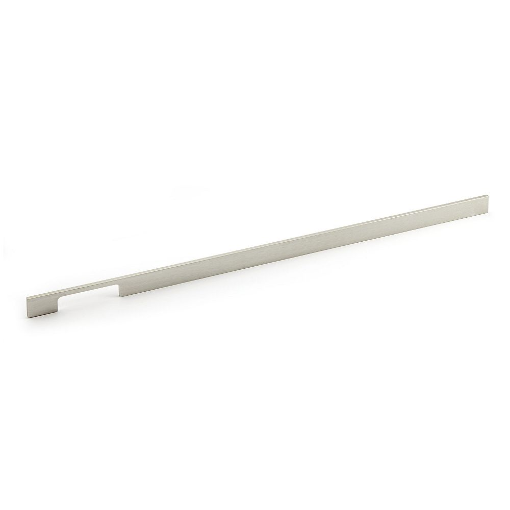 Richelieu Aversa Collection 25 1/4 in (640 mm) Center-to-Center Brushed Nickel Contemporary Cabinet Pull