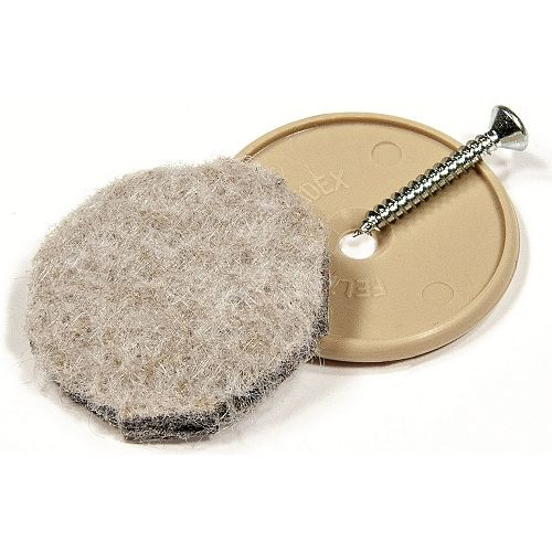 ECO FELTAC - Beige Nail-on Felt Pads