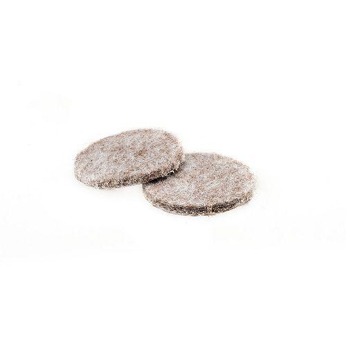 FELTAC Heavy-Duty Self-Adhesive Round Felt Pads