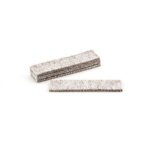 FELTAC Heavy-Duty Self-Adhesive Strip Felt Pads