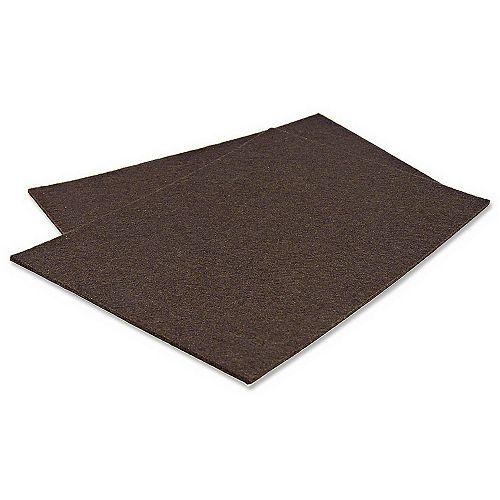 PRO-TEC® Self-Adhesive Medium-Duty Sheet Felt Pads