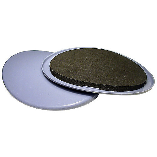 SUPER SLIDEX Gray Oval Ultra-Sliding Glides