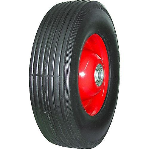 Semi-Pneumatic - Metal Hub Wheel