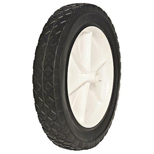 Semi-Pneumatic - Plastic Hub Wheel