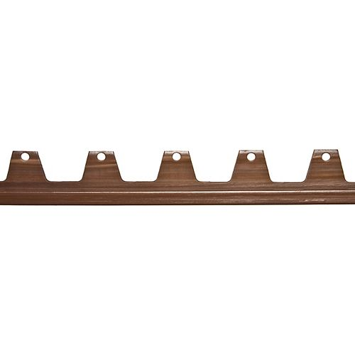 8 pi de Bordure Brown Wonder pour l'installation de Gazon Artificiel