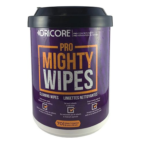 Dricore Pro Mighty Wipes