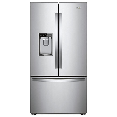 36-inch W 24 cu. ft. French Door Refrigerator in Stainless Steel, Counter Depth - ENERGY STAR®