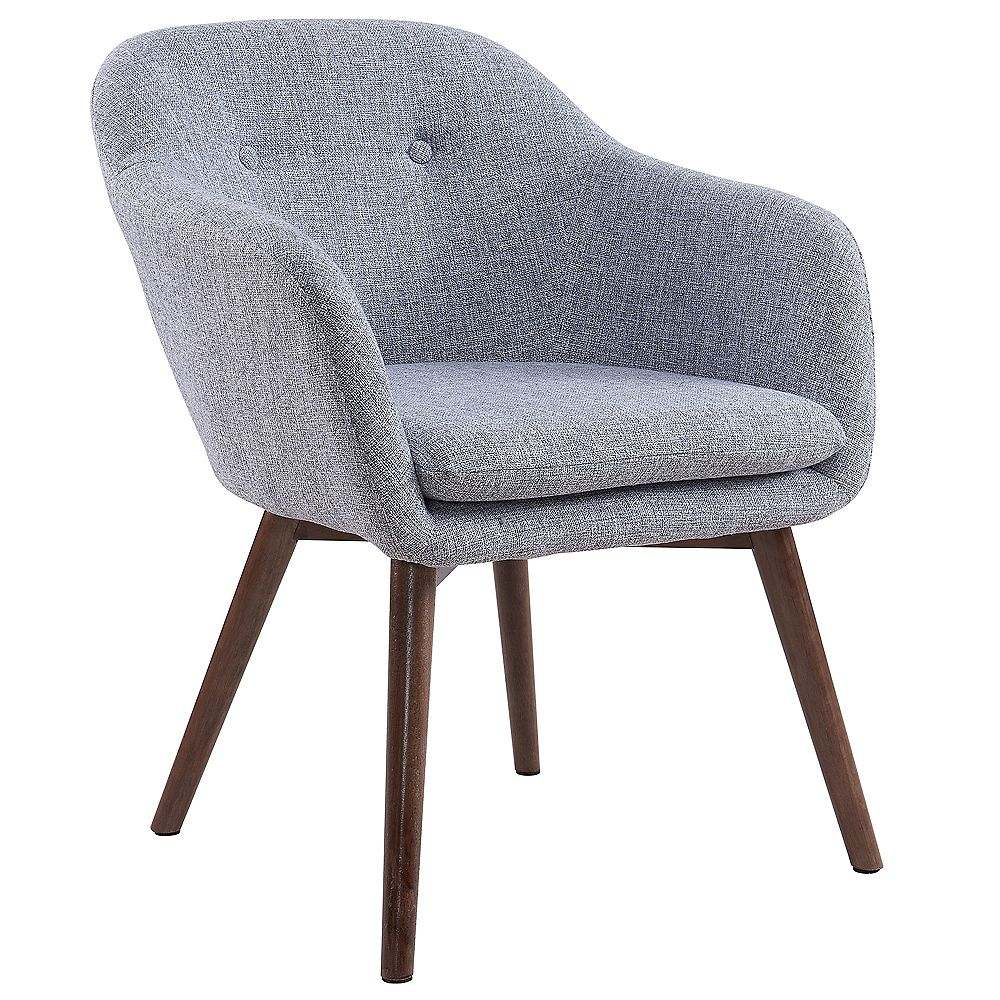 WHI Minto Accent Chair in Grey Blend