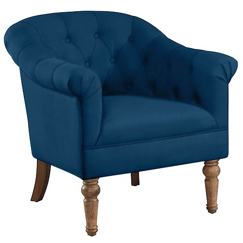 WELBECK-ACCENT CHAIR-BLUE