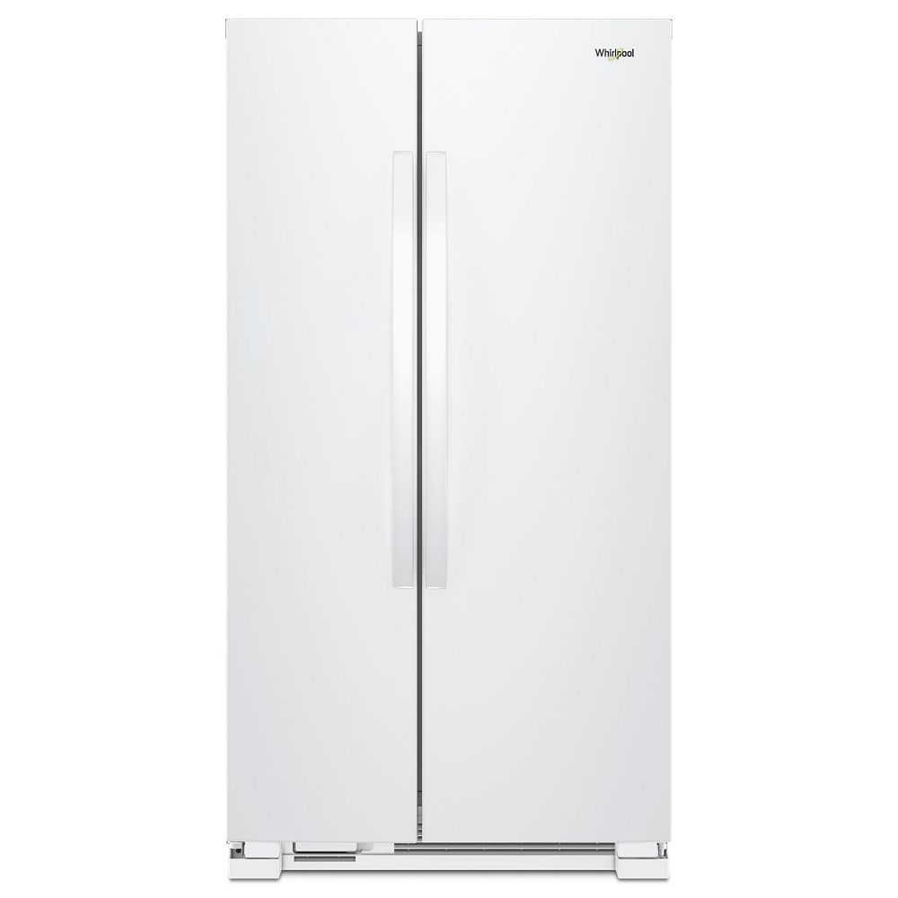 Whirlpool 33-inch 22 cu. ft. Side by Side Refrigerator in White