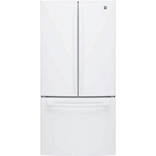 33-inch W 18.6 cu. ft. French Door Refrigerator in White, Counter Depth - ENERGY STAR®