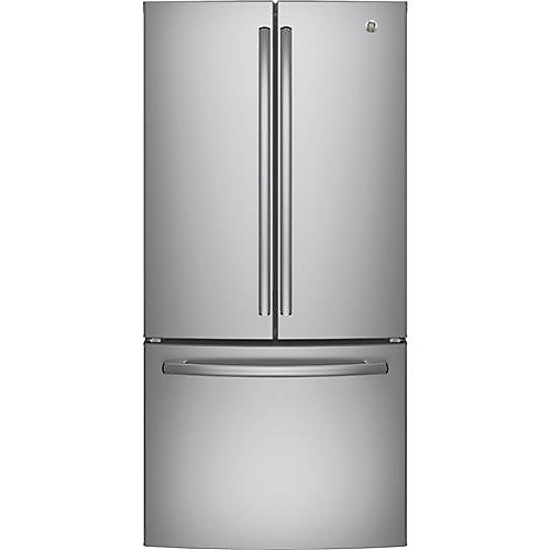 33-inch 18.6 cu. ft. Built-in French Door Refrigerator in Stainless Steel, Counter Depth - ENERGY STAR®