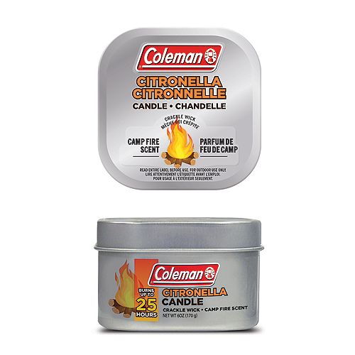 25-Hour Camp Fire Scented Citronella Candle