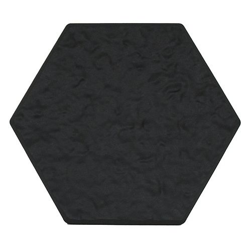 Multy Home 13.5-inch x 15.5-inch Hexagon Stepping Stone in Grey