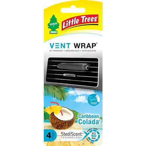Vent Wrap, Caribbean Colada, 4-packs