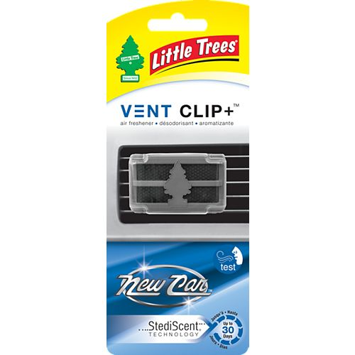 Vent Clip+, New Car Scent, 1-pack