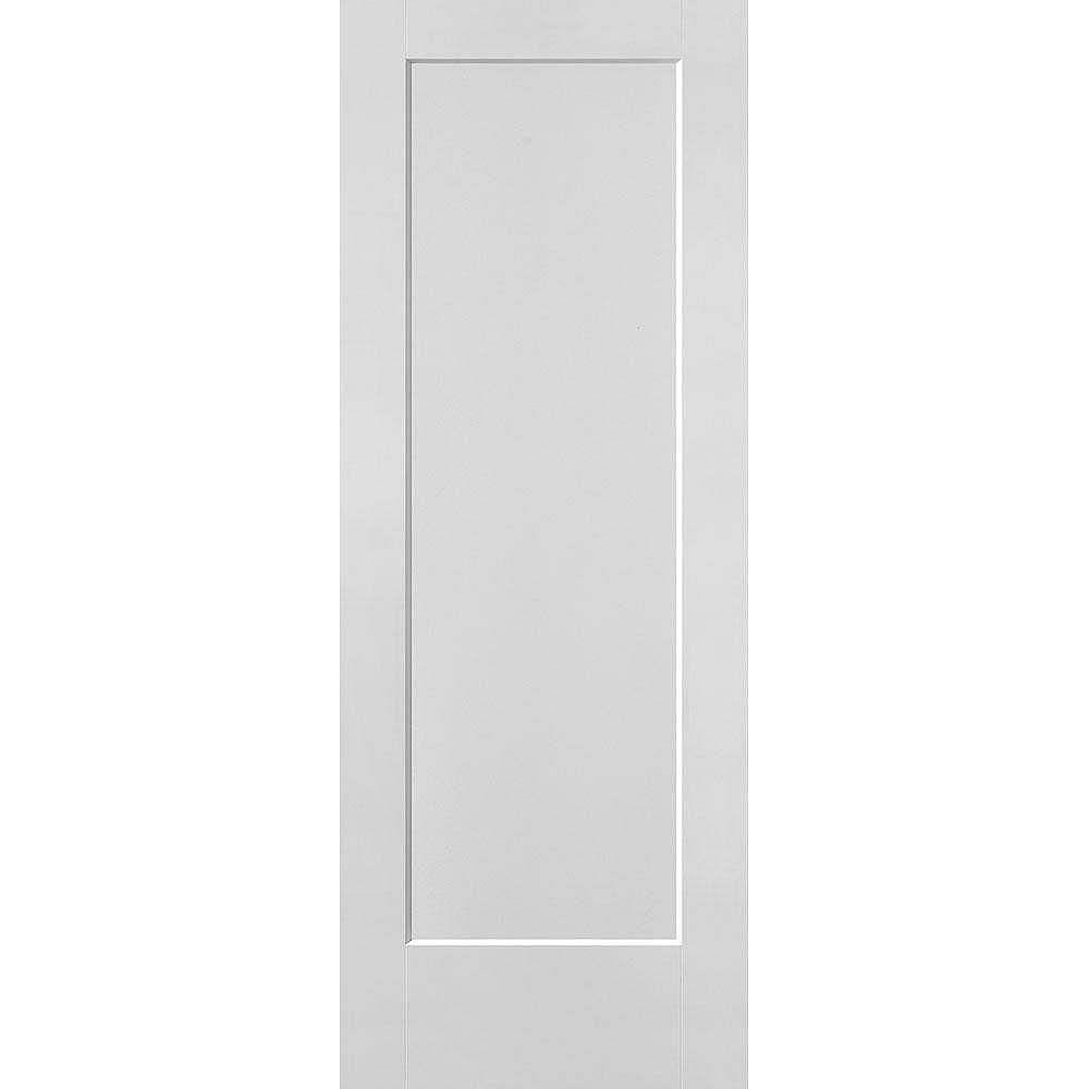 Masonite 30-inch x 80-inch x 1 3/8-inch 1-Panel Hollow Core Lincoln Park Interior Door
