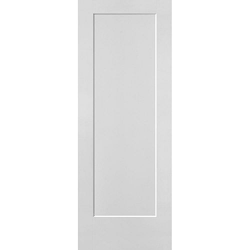 Masonite 30-inch x 80-inch x 1 3/8-inch 1-Panel Hollow Core Lincoln Park Interior Door Slab