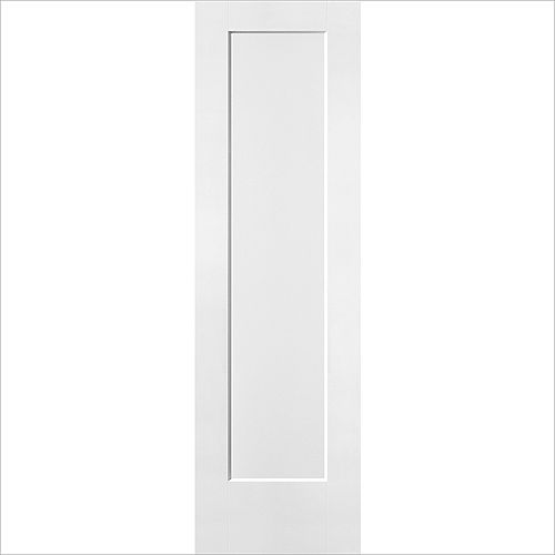 24-inch x 80-inch x 1 3/8-inch 1-Panel Hollow Core Lincoln Park Interior Door Slab