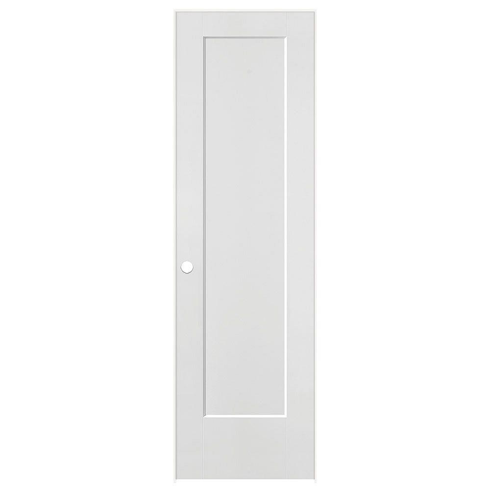 Masonite 24-inch x 80-inch Lincoln Park Right Hand Pre hung Interior Door