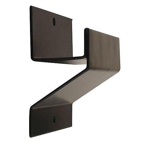 Ladder and Wheelbarrow Hook in Black - 50 lb. Capacity