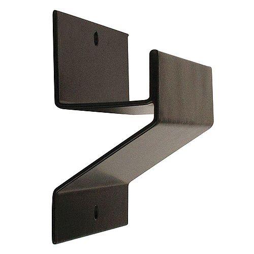 50 lb. Capacity Ladder and Wheelbarrow Hook in Black