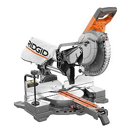 15-Amp 10-inch Dual Bevel Sliding Mitre Saw with LED Cut Line Indicator