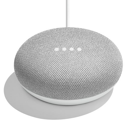 Home Mini Smart Speaker with Assistant in Chalk