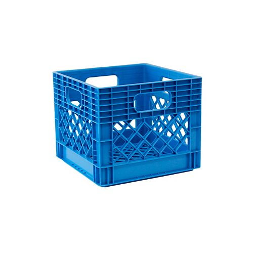 Bac de rangement  Caisse à lait - 25L - bleu