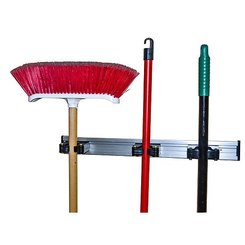 20-in Aluminum Tool Bar with Grip Hooks, 1pc