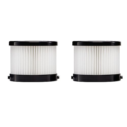 HEPA Dry Replacement Filters for model 0850-20 (2-Pack)
