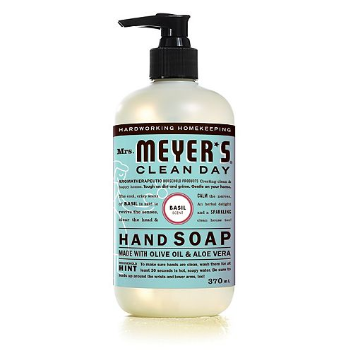 Mrs. Meyers Clean Day Hand Soap - Basil