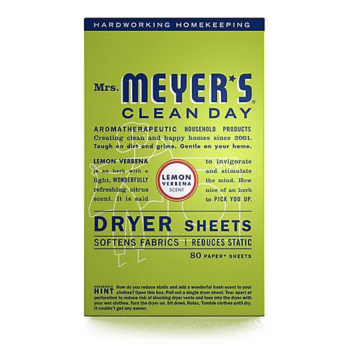 Clean Day Dryer Sheets - Lemon Verbena