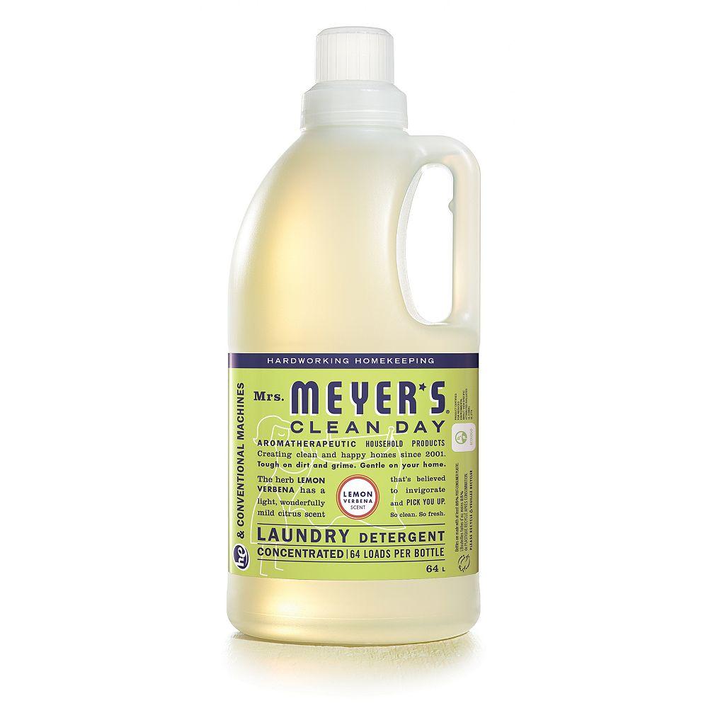 Mrs. Meyers Clean Day Détergent à lessive - Parfum de Verveine Citronnelle