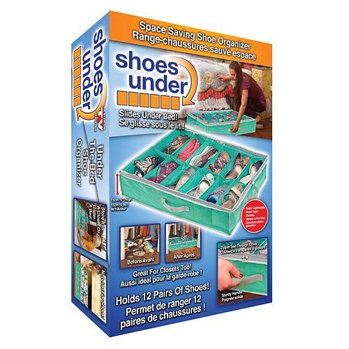 Shoes Under - Aqua