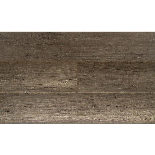 Pebble Oak 12mm x 7.48-inch W x 47.72-inch L Water-Resistant Laminate Flooring (19.80 sq.ft. / case)