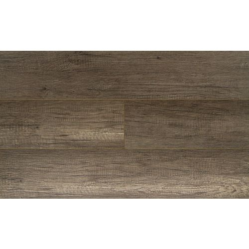 Pebble Oak 12mm x 7.48-inch W x 47.72-inch L Water-Resistant Laminate Flooring (19.80 sq.ft. / case)