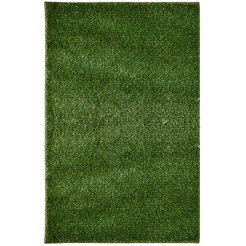 Grass Shag Green 12 ft. X 72 ft. Outdoor Rug