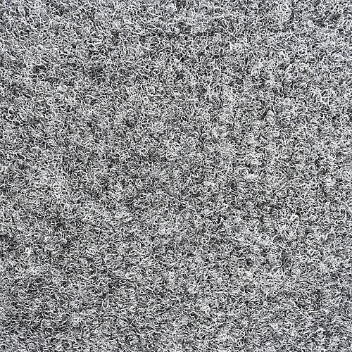 Rouleau de tapis Atrium de couleur gris - 12 pieds par longueur personnalisée