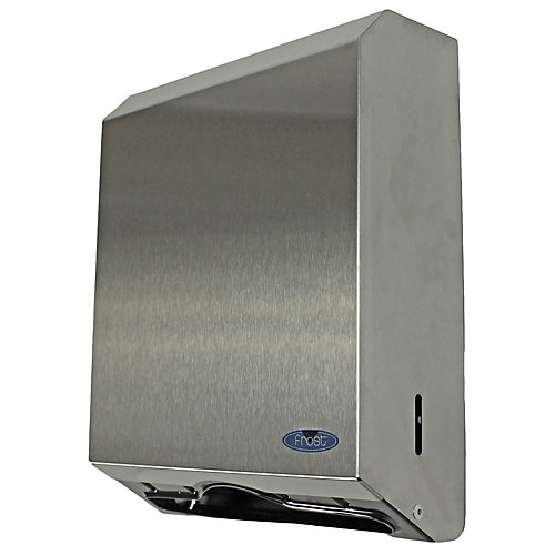 Stainless Steel Multifold Paper Towel With Lock