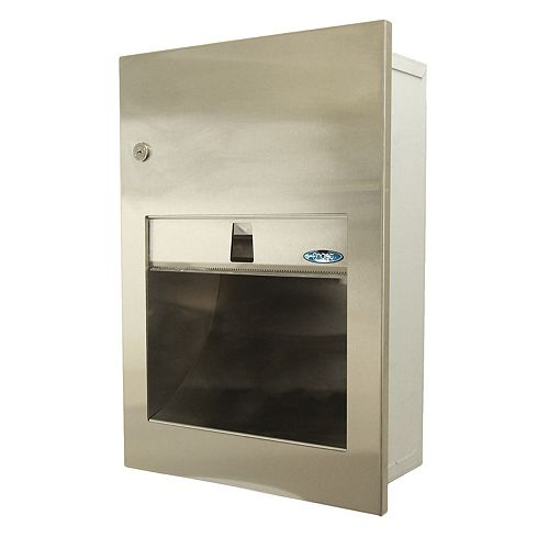 Frost Recessed Paper Towel Dispenser