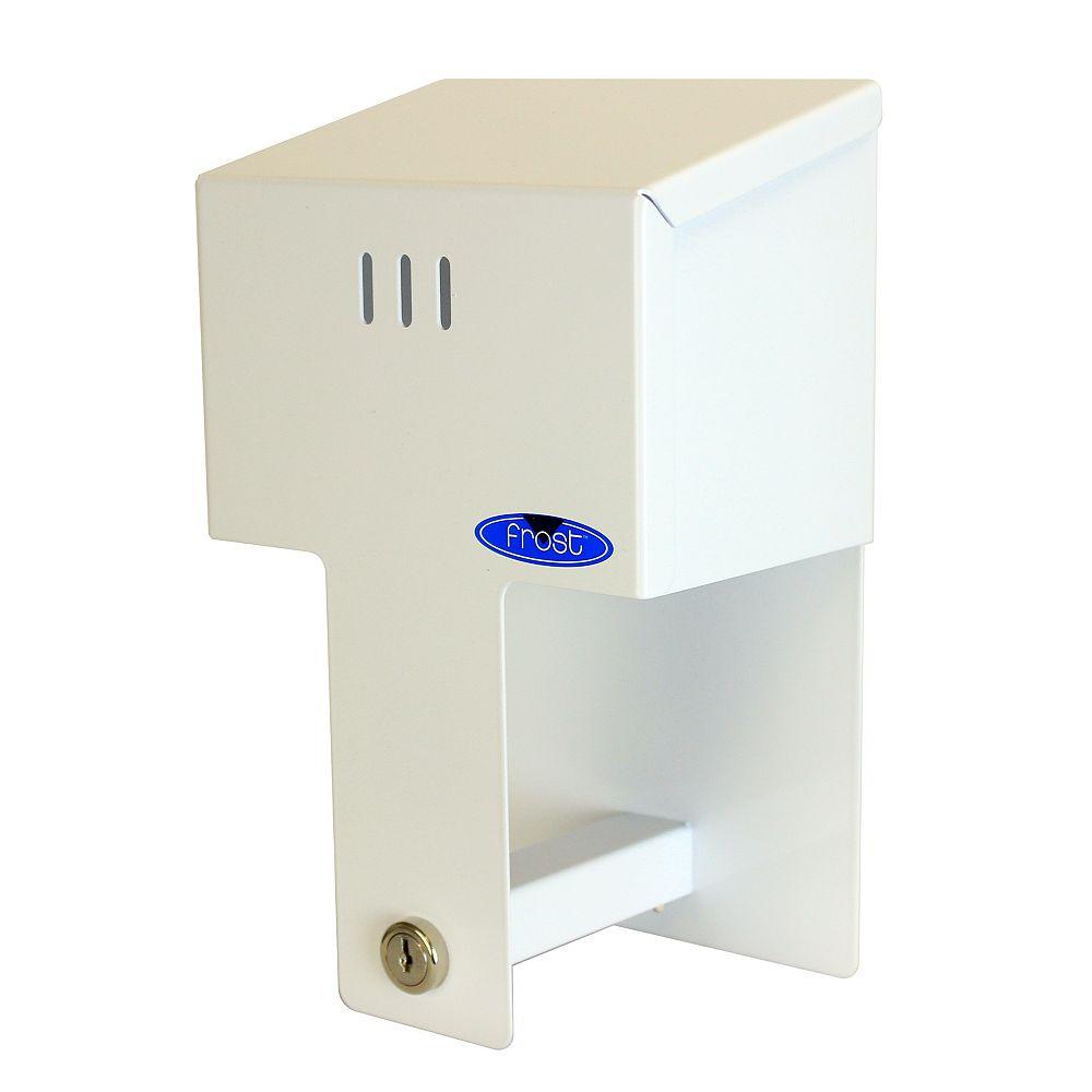Frost Double Toilet Tissue Holder Vertical Mount