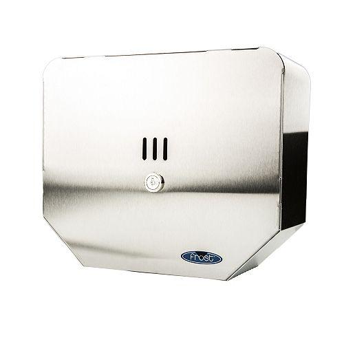 Frost Jumbo Toilet Tissue Dispenser, Stainless Steel, 10 Inch Roll