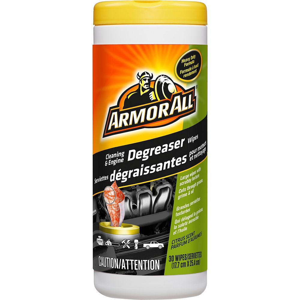 Armor All Cleaner and Engine Degreaser Wipes 30ct.