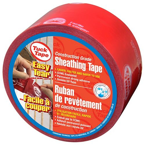 Contractors' Sheathing Tape - Easy Tear 60mm x 66m