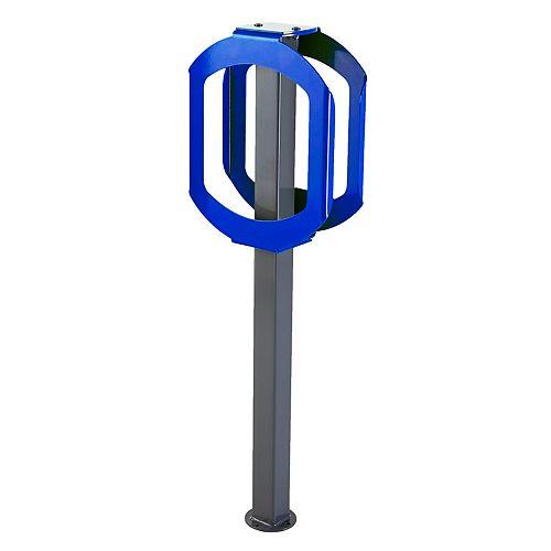 Support à vélo Stop Bleu