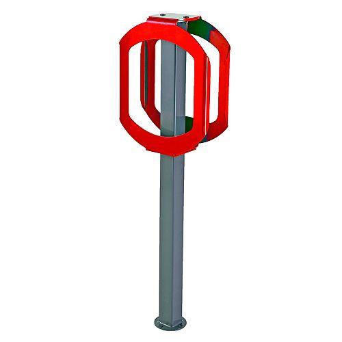 Support à vélo Stop Rouge