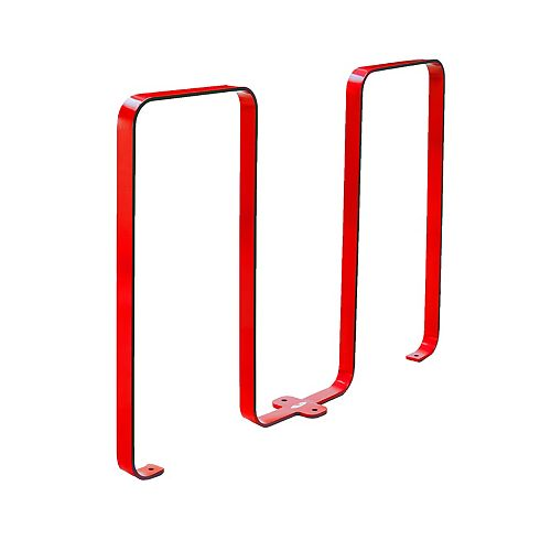 Frost Steel Five Bike Rack Red Finish